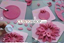 ozdoby na dorty růže