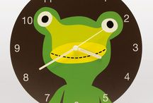 CLOCKs for KIDs / Clock and watch for kids.