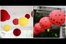 ladybug baby shower decorations