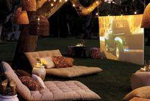 Summer patio space