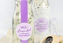 Lavendel und Kräuter