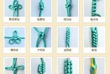 pletení / pletení náramků