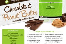 It Works!  Pro Fit  Recipes / Oh my, so good! Feels like you are being naughty but it's actually healthy! Yes, please!