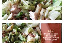 Pasta Salads / by Amanda Cox Montalvo