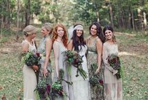 Blissful Bridesmaids / Bridesmaid dresses and ideas