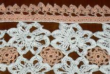 Lavori uncinetto - Crochet works / Lavori all'uncinetto realizzati da me. Crochet works homemade.