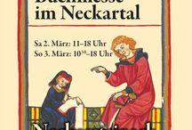 """7. Kleine Buchmesse im Neckartal / 02.-03. 03. 2013, Neckarsteinach, Bürgerhaus """"Zum Schwanen"""""""