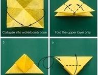 Origami, Papierbasteleien