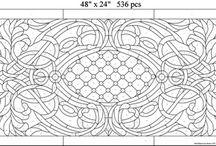 šablony mozaiky