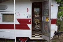 Vintage Shasta trailers/other / by Minerva DemeterIsis
