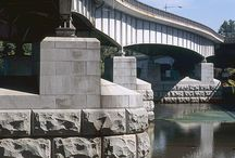 Bridge and Civil Engineering / Fletcher Granite is the largest supplier in North America of dimensional granite for bridge and civil engineering projects.