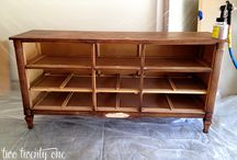 Dresser to TV stand