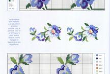 Výšivka květiny
