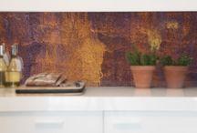 Vidrio laminado for walls
