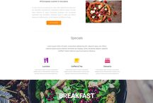 Material Design Landing Pages Templates / Showcase of the most beautiful, thematic landing pages made with Material Design for Bootstrap