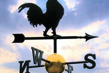 Weathervanes - Bird Themed / Handmade, bespoke, quality weathervanes with dog and cat designs as the main theme.