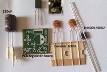 Kit Regulator Ac/dc 12v Ke Dc 9v [ Converter ]