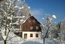 Ferienhaus im Erzgebirge / Das Erzgebirge erleben in all seiner Schönheit und abends in ein gemütliches Ferienhaus einkehren. Alle Infos unter www.ferien-im-gebirge.de