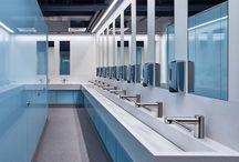 Corian Commercial Bathrooms