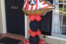 Under the Sea / Pirate Ideas / Balloon Decorations