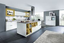 Gloss kitchens from Contur German kitchens / Our gloss German kitchens are available in laminate, glass, and lacquer fininshes