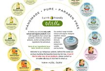 OliElla / Natural organic products handmade with earth friendly ingredients