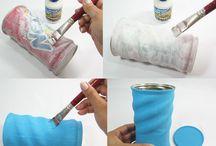 latas decorativas