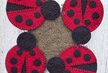 Felt abd wool projects