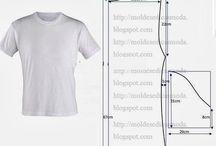 Erkek tişört yapimi