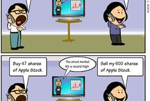 Cartoons / Cartoons are a great way to tell a story and make a point.  These cartoons will help you learn how to manage your finances.
