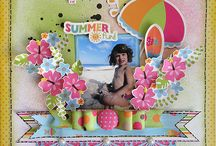 Summer Scrapbook pages.... / by Cynthia Ryder
