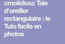 TAIE OREILLER