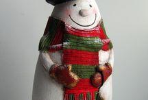 Winter kerst knutsel