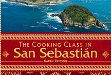 the Cooking Class in San Sebastian / my new book