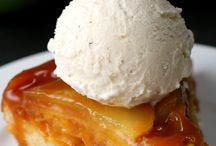 bolo de maçã invertido