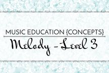 Melody Level 3 - Music Education {Concepts} / Songs, activities, resources, and strategies for teaching high do, fa, ti, and low ti.