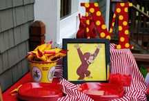 Tenley turning 2 - curious george / by Stacey Runke