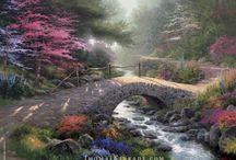 Bro med vand