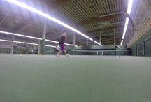 My tennis videos