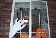 Halloween Window Painting DIY / Keep your windows bird-friendly during every season!
