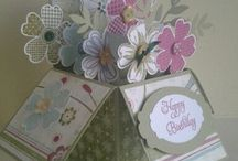 templates/card in a box / by Kathy Dzelzkalns