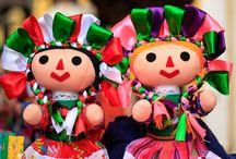 Muñecas mazahuas