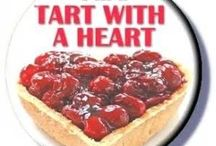TART WITH A HEART BIRTHDAY BOARD / THE ANYTHING GOES PARTY BOARD (NOTFOR THE FAINTHEARTED) j   pure fun
