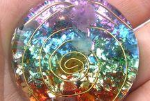 Crystal healing jewellery