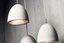 Concrete Pendant from Viore