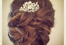 wedding hair / by Jordan McMillan