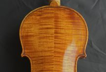 My violin / A contemporary violin made by violin maker Jens Stenz, Aarhus, Denmark. It is a copy of a Josef Guadagnini, 1803