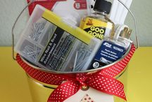 useful / gift basket ideas, cleaning solutions, general useful info / by Chrissy Bell
