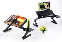 Laptop Table Stand Desk Computer Note Book Portable Folding Relax Read Tray Sofa