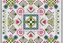 квадрат крестиком
